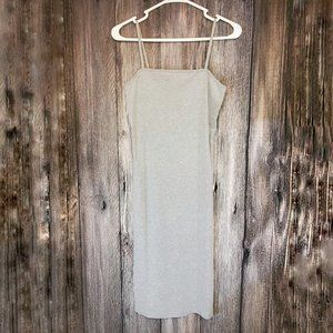Topshop Cami Tee Dress Gray Sz 6